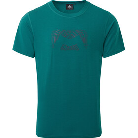 Mountain Equipment Groundup Logo+ T-shirt Homme, spruce